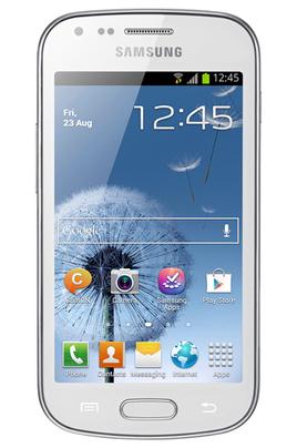 Samsung GALAXY TREND BLANC
