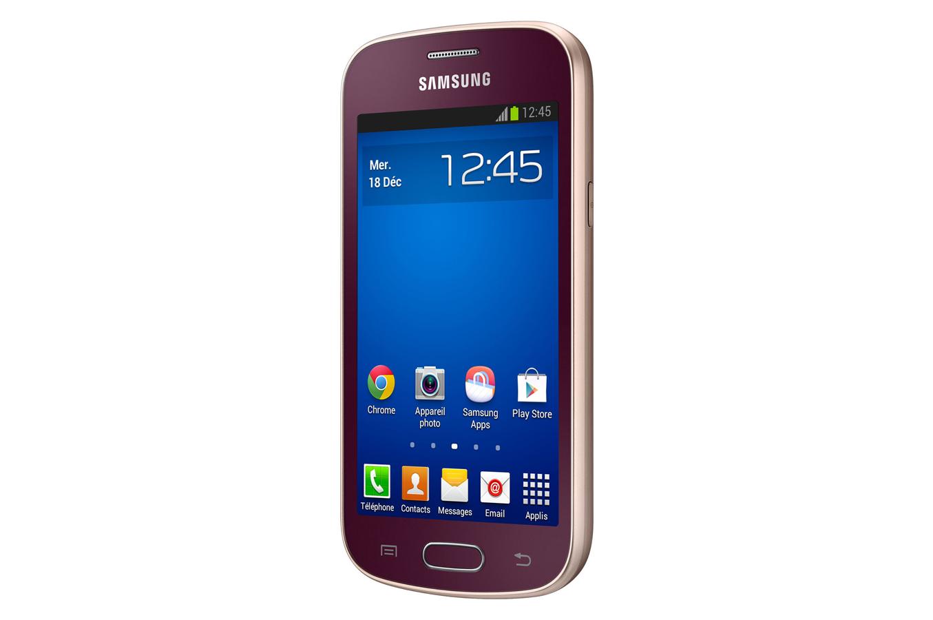 Smartphone samsung galaxy trend lite rouge galaxy trend lite 4016238 darty - Telephone portable samsung galaxy trend lite ...