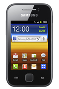 Samsung Galaxy Y Noir