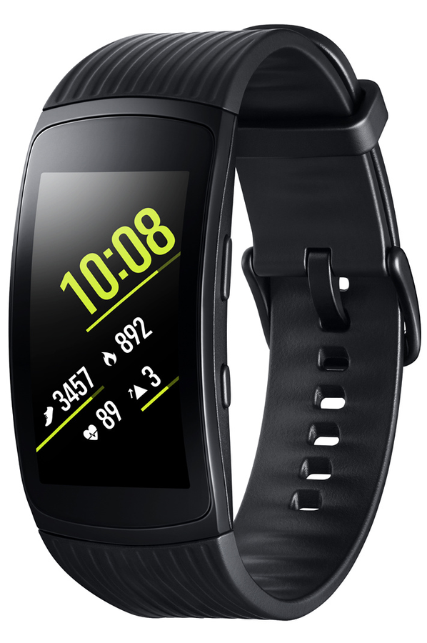 montre connect e samsung gear fit 2 pro small noir gear fit2 pro small noir 4353935 darty. Black Bedroom Furniture Sets. Home Design Ideas