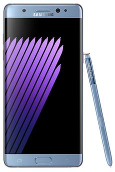 Mobile nu GALAXY NOTE 7 BLEU Samsung