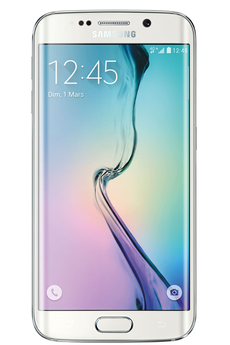 Mobile nu GALAXY S6 EDGE 128GO BLANC ASTRAL Samsung