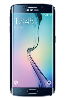 SAMSUNG Galaxy S6 Edge Noir Cosmos 32 Go 5.1 pcs - Android Lollipop 5.0 - 2600 mAh - 4G - 16 mpx - 3/4 fois sans frais par CB jusqu?au 24 Mars !