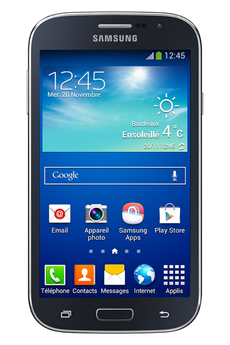 Mobile nu GALAXY GRAND PLUS NOIR Samsung