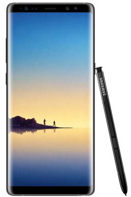 """Mobile sous Android 7.1 - Nougat Écran tactile 6,3"""" (15,7 cm) - Quad HD+ 2960 x 1440 pixels Processeur Octo-coeur 2,3GHz - 64Go de mémoire Reconnaissance d'iris - Reconnaissance faciale Photo 12 mégapixels - Vidéo UHD 4K"""