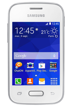 Mobile nu Galaxy pocket 2 blanc Samsung
