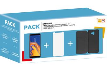 Smartphone Samsung PACK GALAXY J6+ NOIR