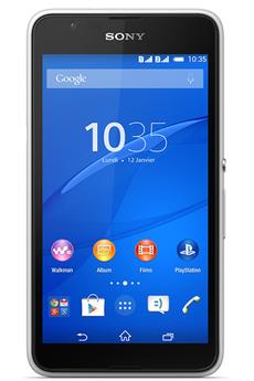 Mobile nu XPERIA E 4G dual sim BLANC Sony