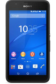 Mobile nu XPERIA E 4G DUAL SIM NOIR Sony