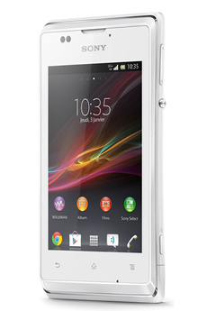 Mobile nu Xperia E Blanc Sony
