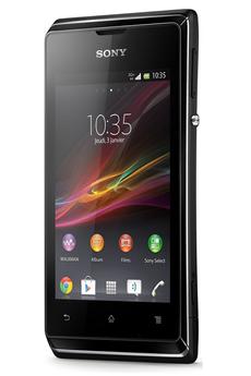 Mobile nu Xperia E Noir Sony