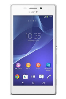 Mobile nu XPERIA M2 BLANC Sony