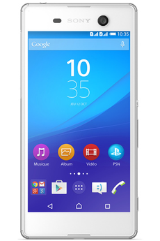 Mobile nu XPERIA M5 BLANC Sony