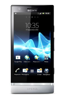Mobile nu XPERIA P ARGENT Sony