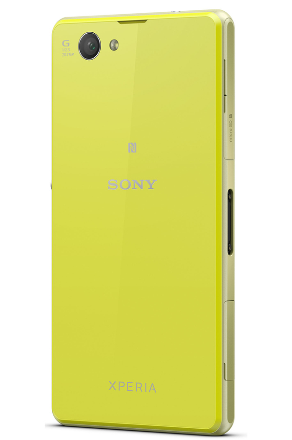 Mobile nu Sony XPERIA Z1 COMPACT JAUNE XPERIA Z1 COMPACT (3855481