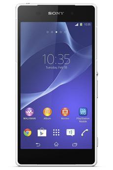 Mobile nu XPERIA Z2 BLANC Sony