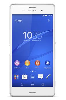 Mobile nu XPERIA Z3 BLANC Sony