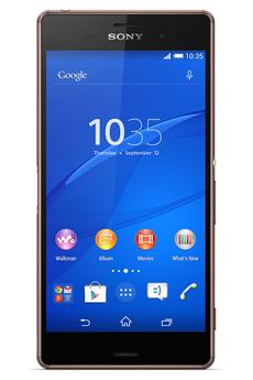 Mobile nu XPERIA Z3 BRONZE Sony