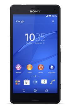 Mobile nu XPERIA Z3 COMPACT NOIR Sony