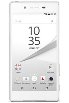 Mobile nu XPERIA Z5 DUAL SIM BLANC Sony
