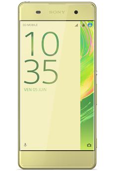 Mobile nu XPERIA XA DUAL SIM 16GO JAUNE Sony