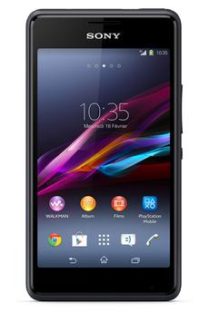 Mobile nu XPERIA E1 DUAL SIM NOIR Sony