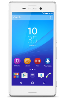 Mobile nu XPERIA M4 AQUA DUAL BLANC Sony