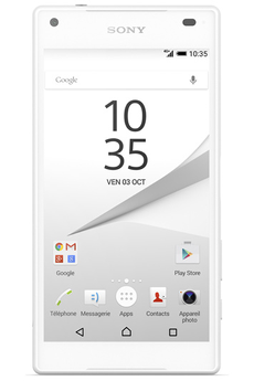 Mobile nu XPERIA Z5 COMPACT BLANC Sony