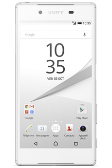 Mobile nu PACK 007 XPERIA Z5 BLANC Sony