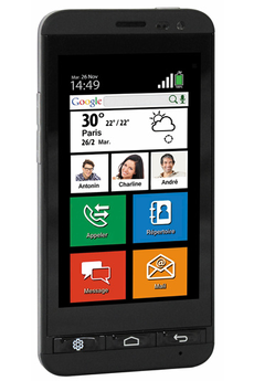 Mobile nu SEREA 405 BLK Thomson