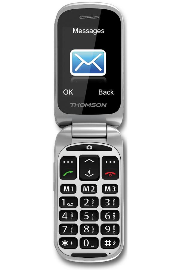 smartphone thomson serea 65 blanc senior serea 65 4018281 darty. Black Bedroom Furniture Sets. Home Design Ideas