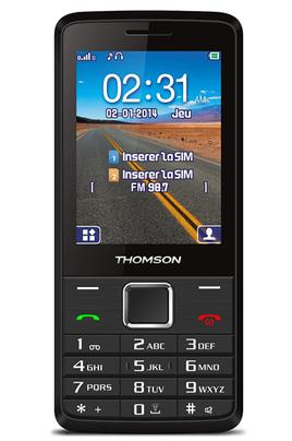 t l phone portable thomson tlink28 ls 4086490 darty. Black Bedroom Furniture Sets. Home Design Ideas