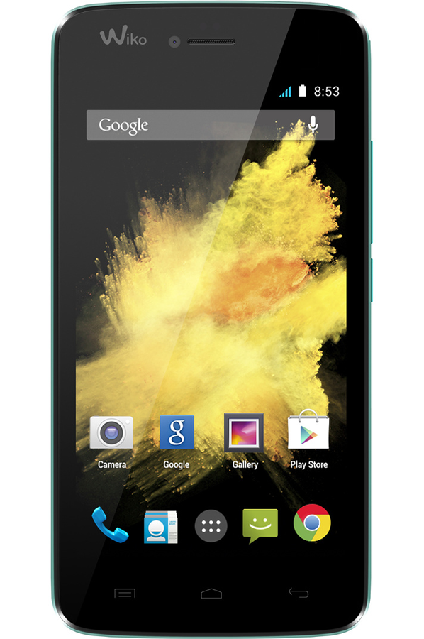 Mobile nu Wiko BIRDY 4G TURQUOISE (4068300) | Darty