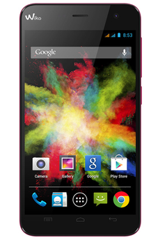 Mobile nu BLOOM DUAL SIM FUSHIA Wiko
