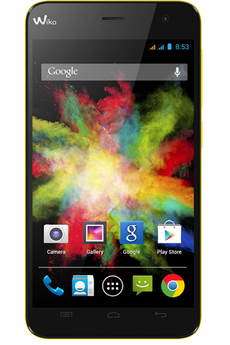 Mobile nu BLOOM DUAL SIM JAUNE Wiko