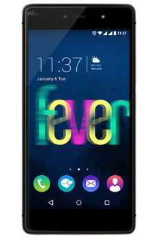 Mobile nu FEVER NOIR/OR Wiko