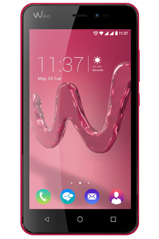 Mobile nu FREDDY 4G DUAL SIM ROUGE Wiko