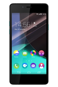Mobile nu HIGHWAY PURE NOIR/TURQUOISE Wiko