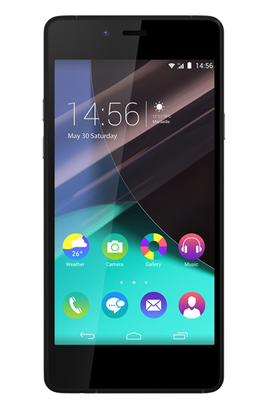 WIKO HIGHWAY PURE 4G BLACK/GREY 4.8 pcs Amoled HD Quad Core 1.2 GHZ 8 mpx caméra frontal 5 mpx--3/4