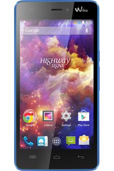 Mobile nu HIGHWAY SIGNS DUAL SIM BLEU Wiko
