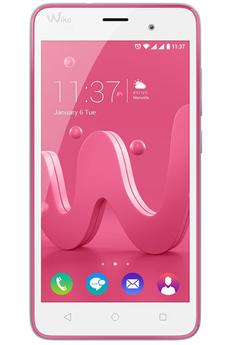 Mobile nu JERRY DUAL SIM ROSE ET ARGENT Wiko
