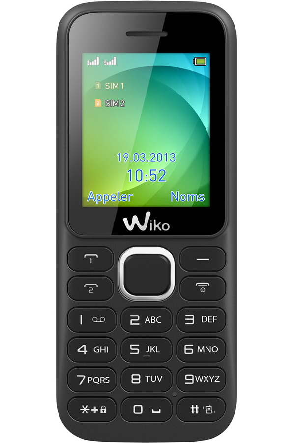 smartphone wiko lubi3 dual sim noir lubi 3 noir 4066553 darty. Black Bedroom Furniture Sets. Home Design Ideas