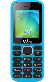 Mobile nu LUBI3 DUAL SIM TURQUOISE Wiko