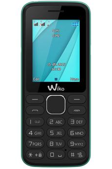 Mobile nu LUBI 4 NOIR/VERT Wiko