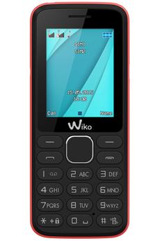 Mobile nu LUBI 4 NOIR/ROSE Wiko