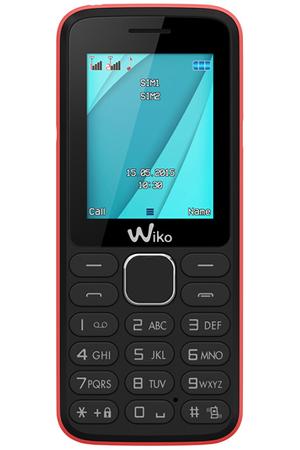 T l phone portable wiko lubi 4 noir rose darty - Telephone portable 8 megapixel ...