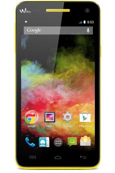 Mobile nu RAINBOW 4G JAUNE Wiko