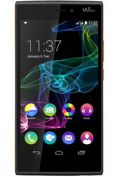Mobile nu RIDGE 4G DUAL SIM NOIR/ORANGE Wiko