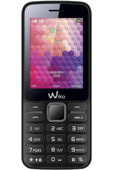 Mobile nu RIFF DUAL SIM NOIR Wiko