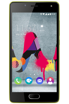 Mobile nu UFEEL LITE DUAL SIM ASPHALTE/CITRON VERT Wiko